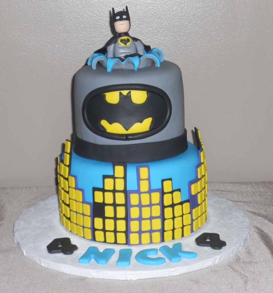 Batman For Nick on Cake Central