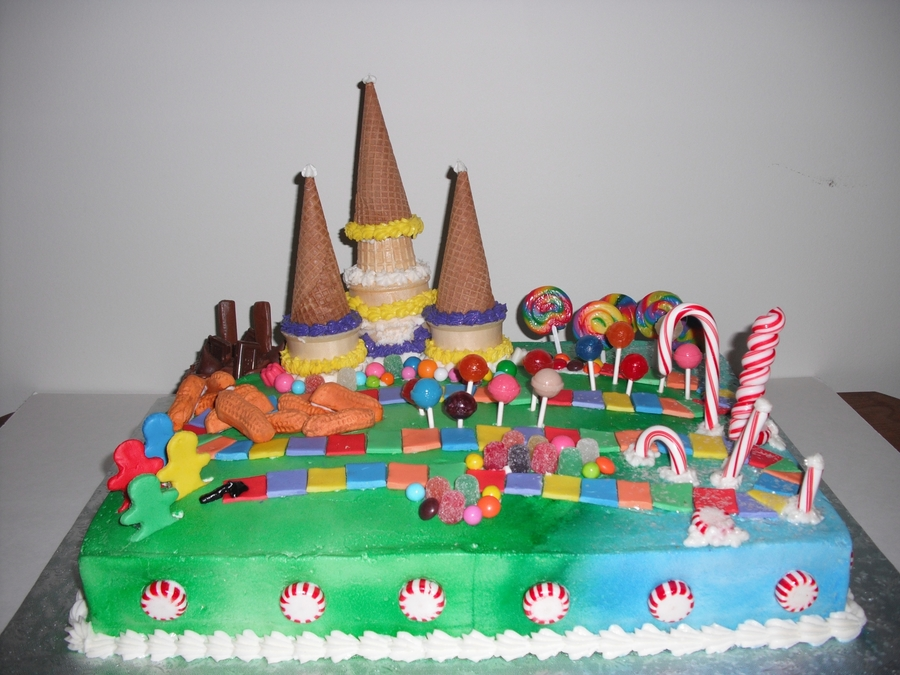 Candy Land Cake on Cake Central