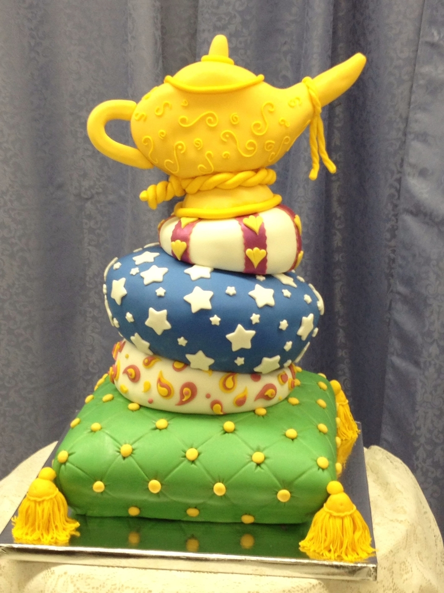 Aladdin's Lamp on Cake Central