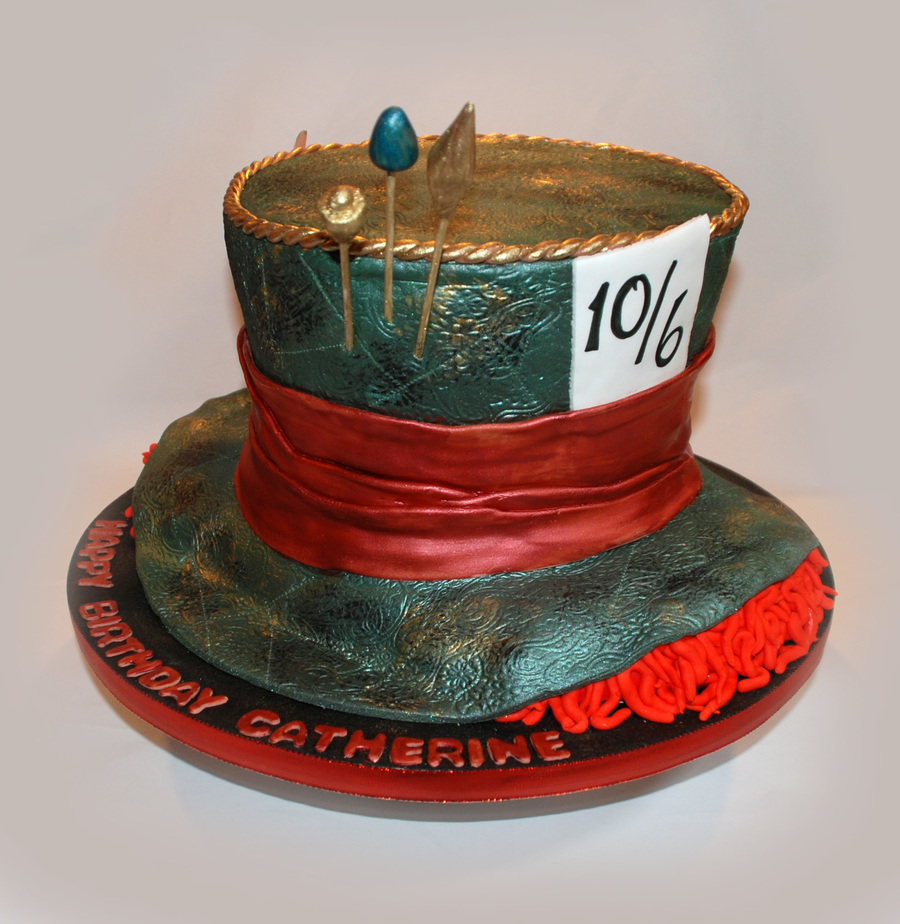 Mad Hatter Cake From Alice In Wonderland Cakecentral Com