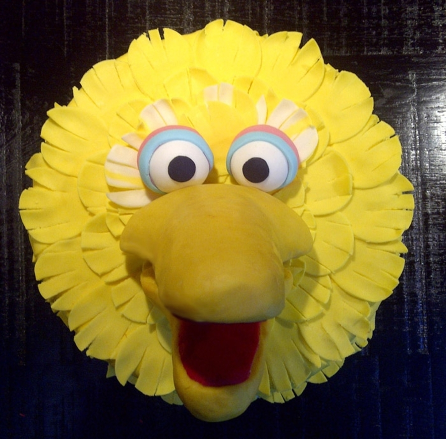Big Bird Birthday Cake - CakeCentral.com