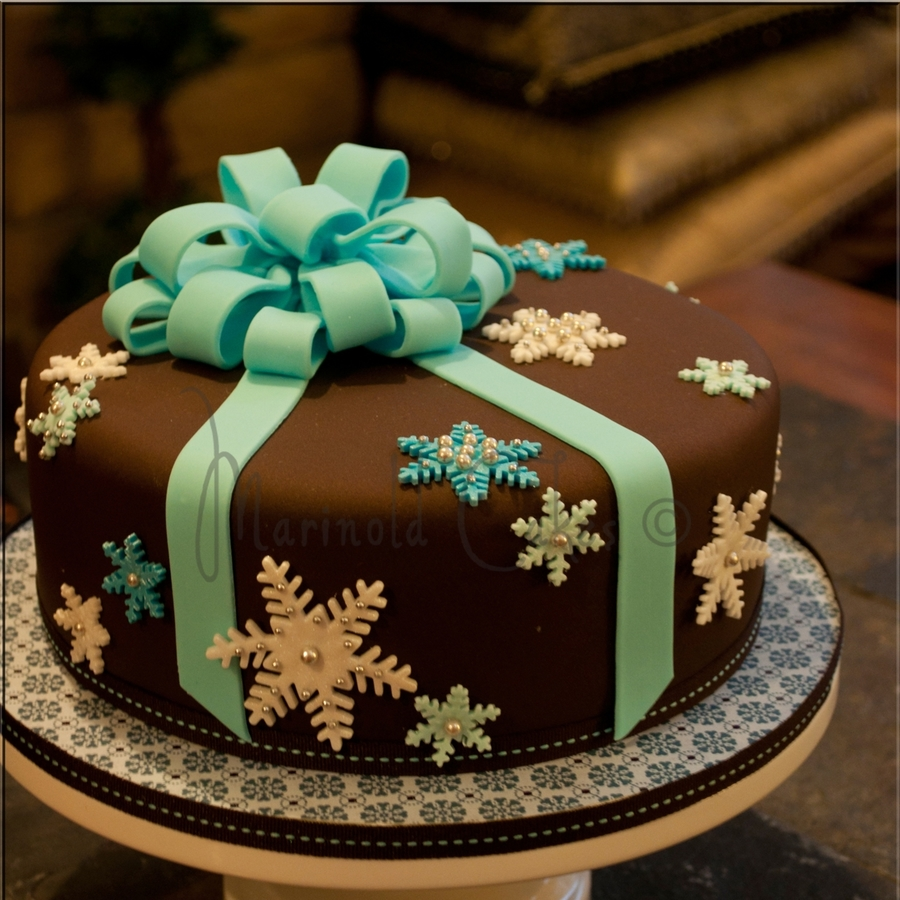 Snowflakes On Chocolate!