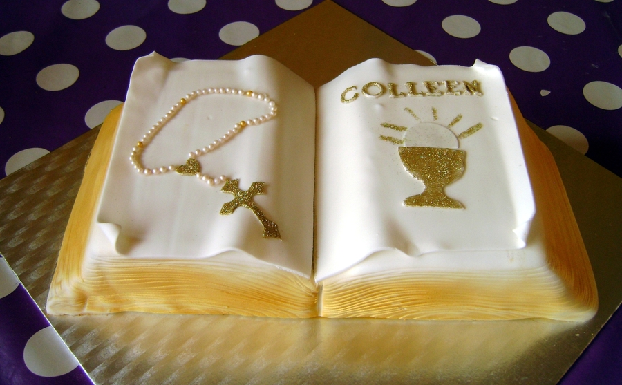 Communion Book on Cake Central