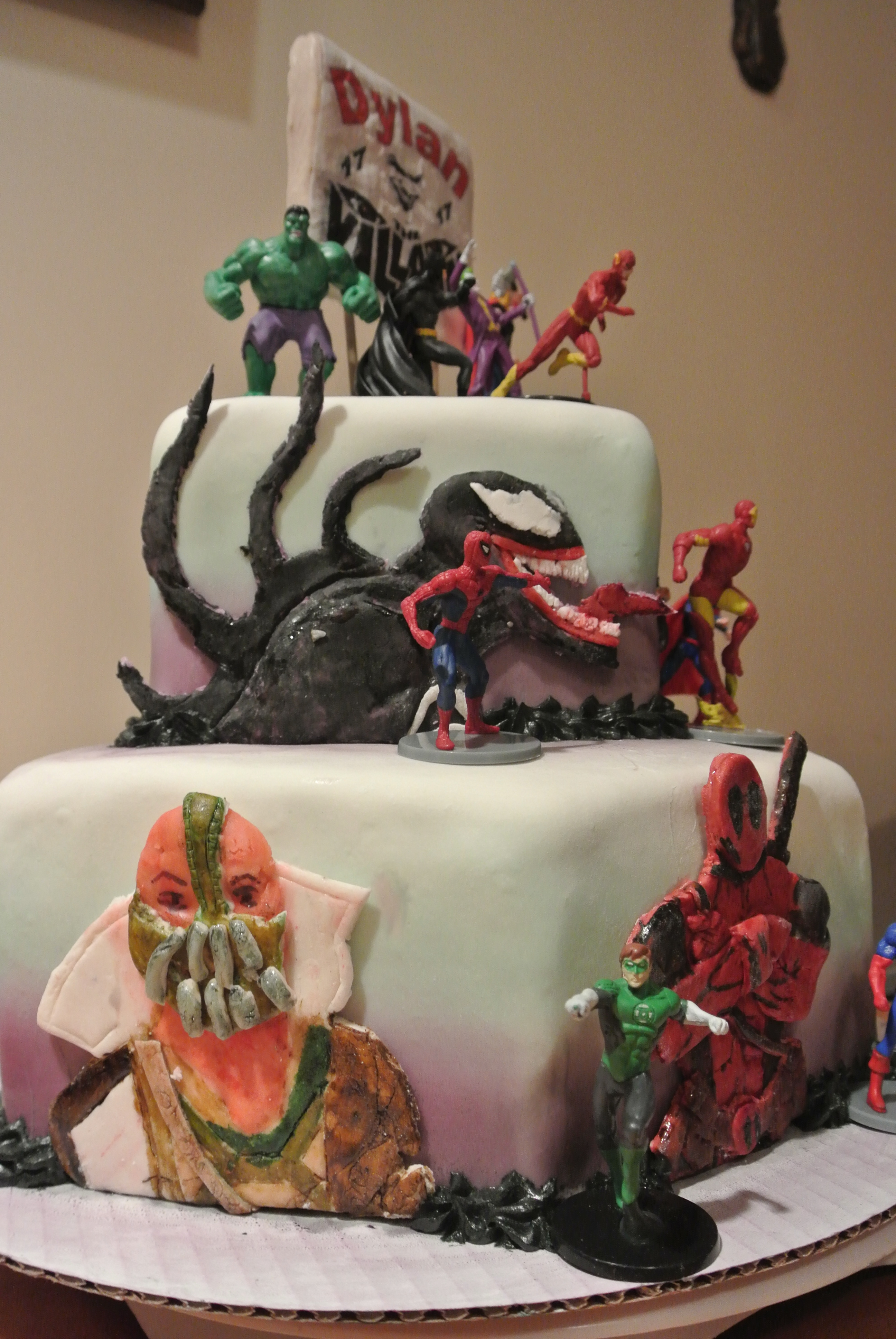 wedding cakes dc marvel vs dc comic cakecentral 24150