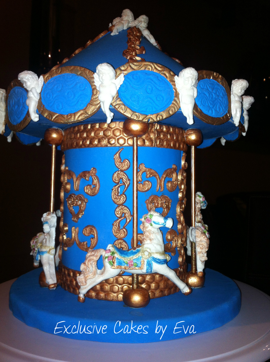 Cake Decorating Carousel : Carousel Cake Topper ! - CakeCentral.com