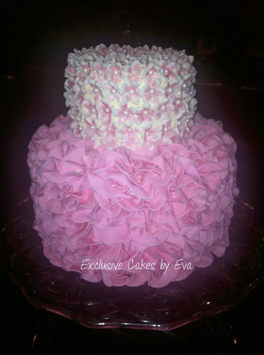 B Day Cake Cakecentral Com