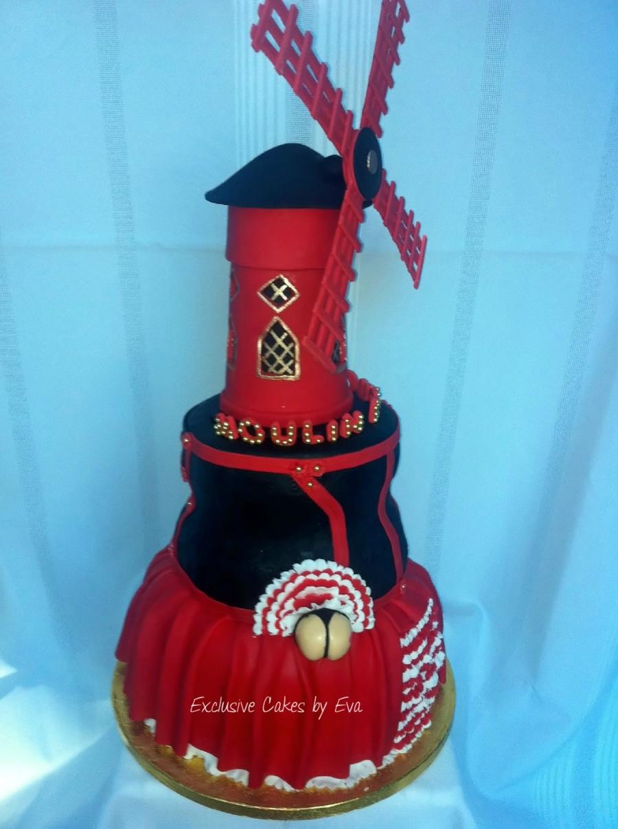 Moulin Rouge Cake Cakecentral Com