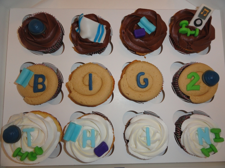 Big2Thin Contest Cupcakes  on Cake Central