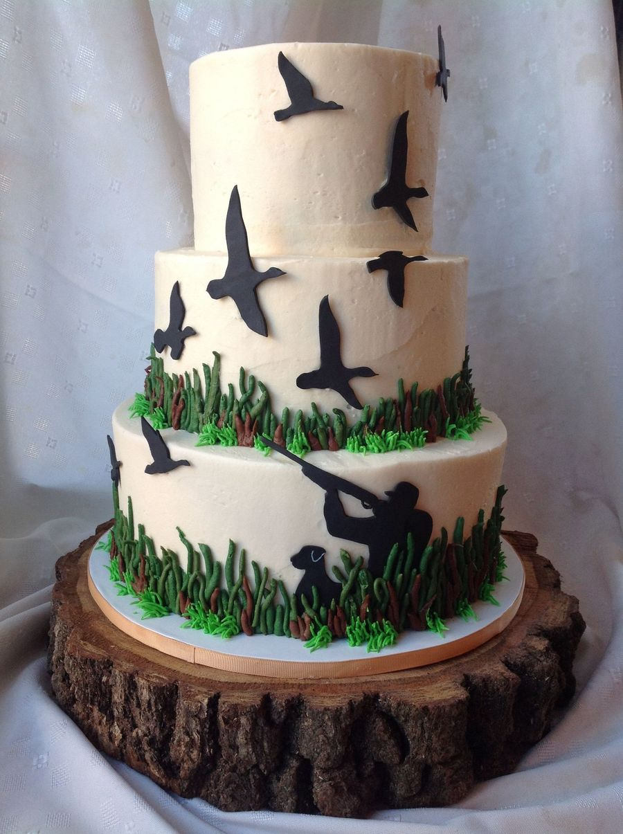 Grooms Cake Ideas Hunting