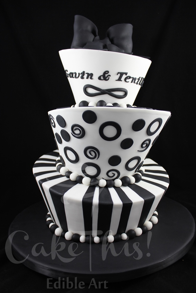 Mad Hatter Wedding Cake Cakecentralcom