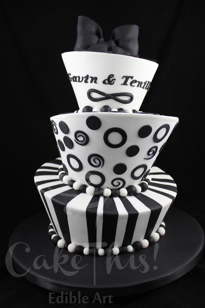 Mad Hatter Wedding Cake - CakeCentral.com