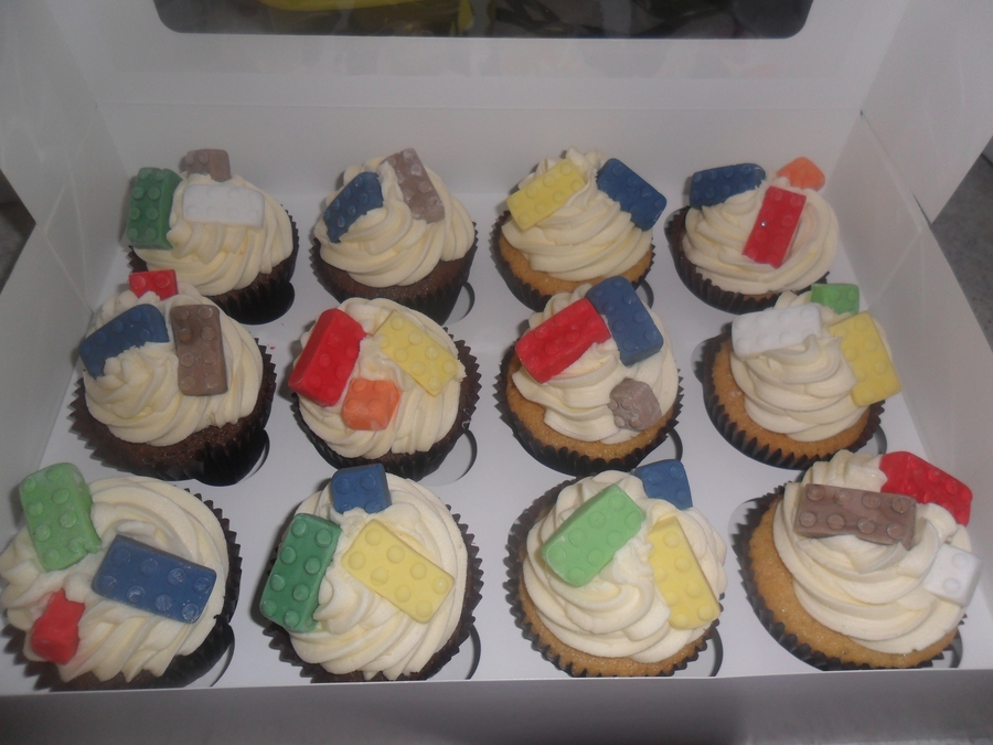 Lego Birthday Cup Cakes on Cake Central
