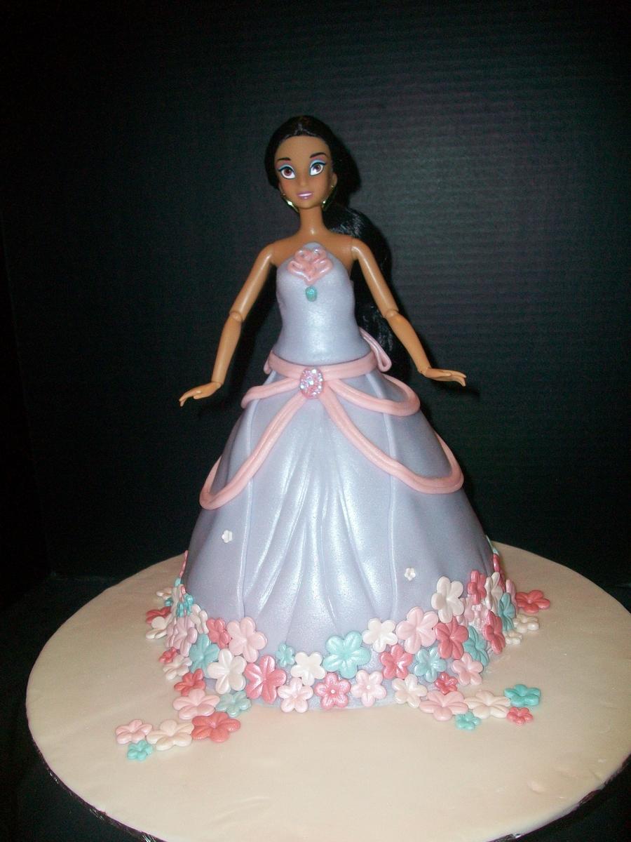 Princess Jasmine Doll Cake Cakecentral Com