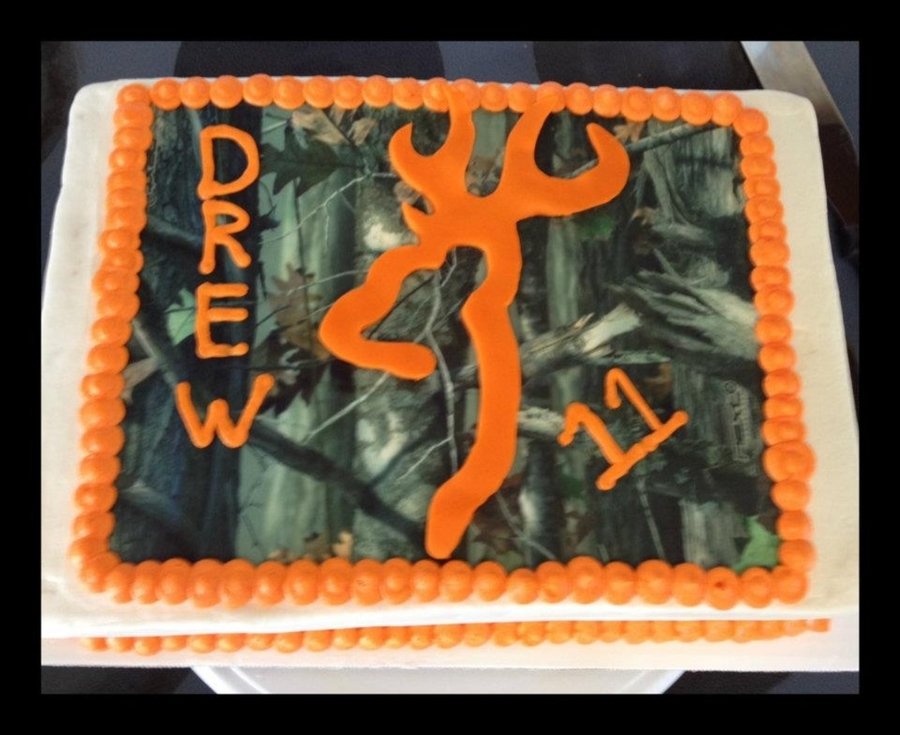 Browning/camo Cake on Cake Central