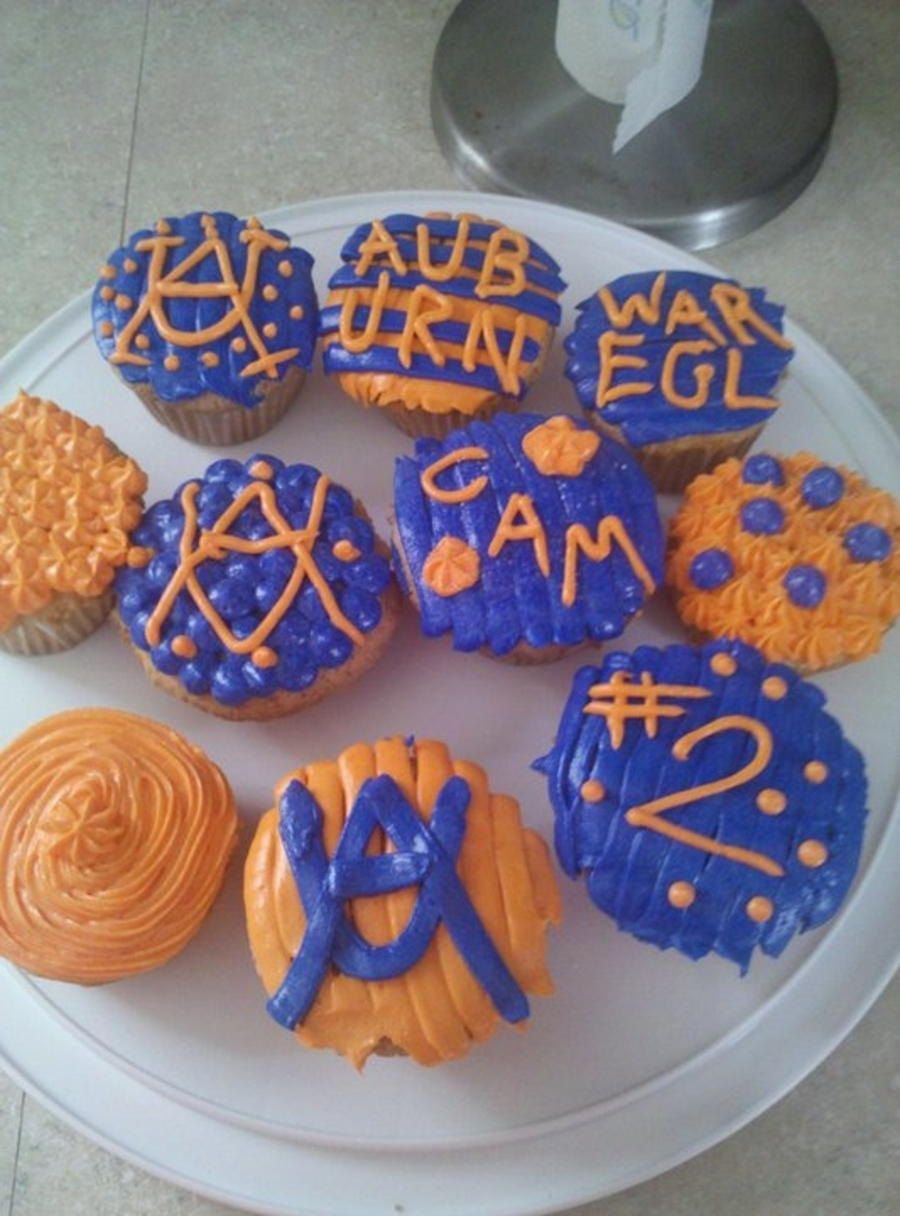 Auburn Cupcakes on Cake Central