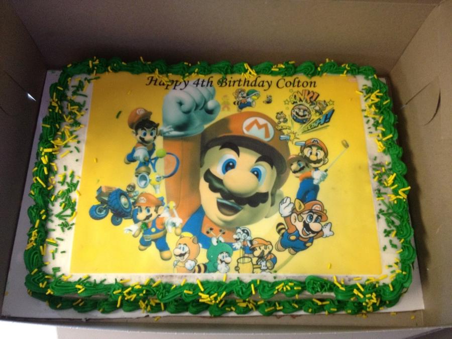 Super Mario Cake - CakeCentral.com