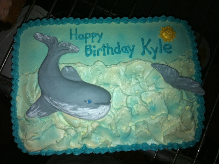 Whale Of A Cake  on Cake Central