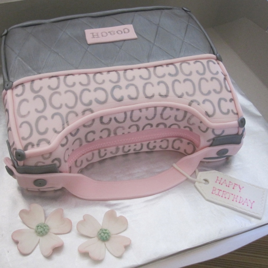 Pink/silver Purse on Cake Central