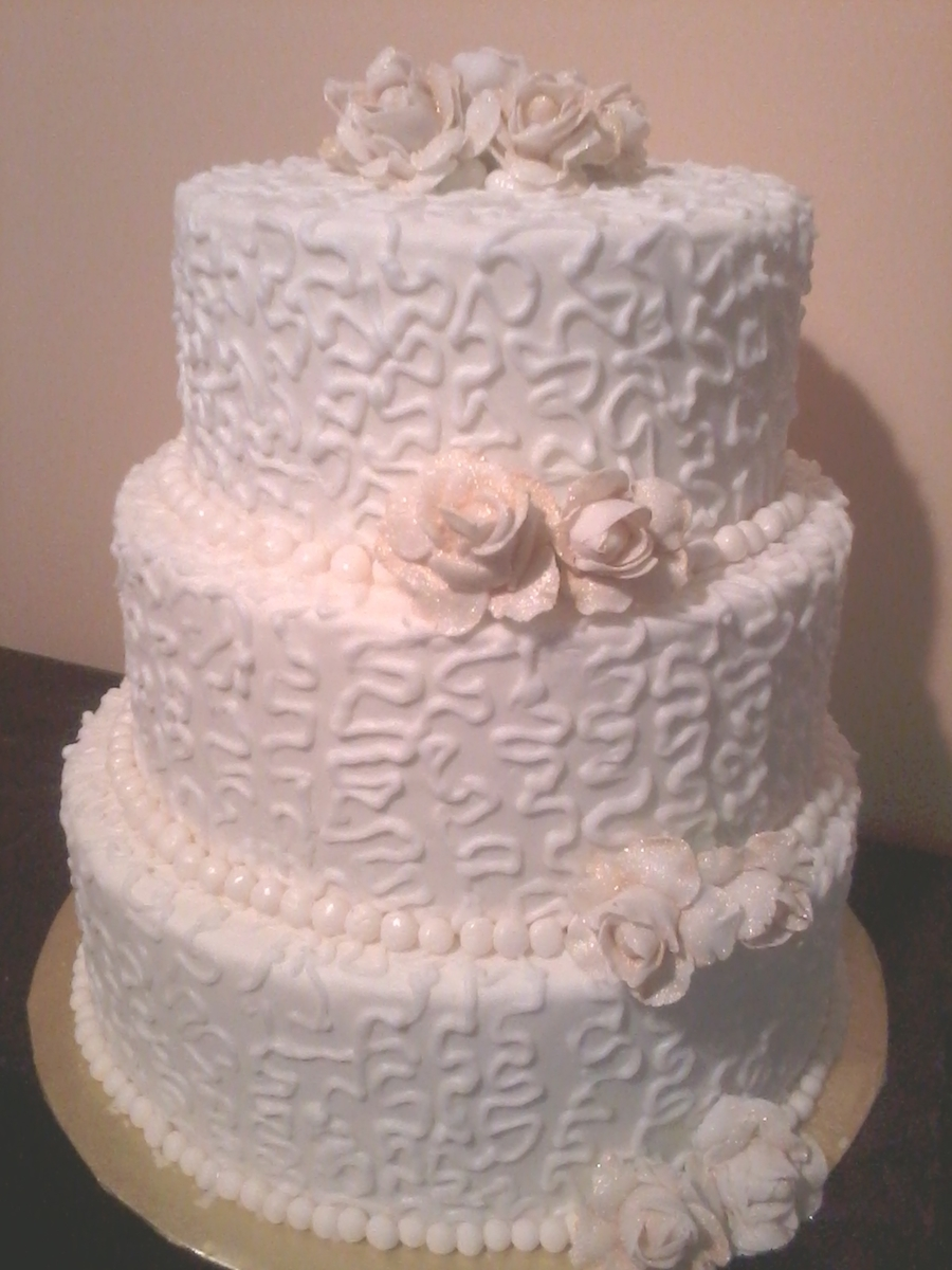Pearls And Lace on Cake Central