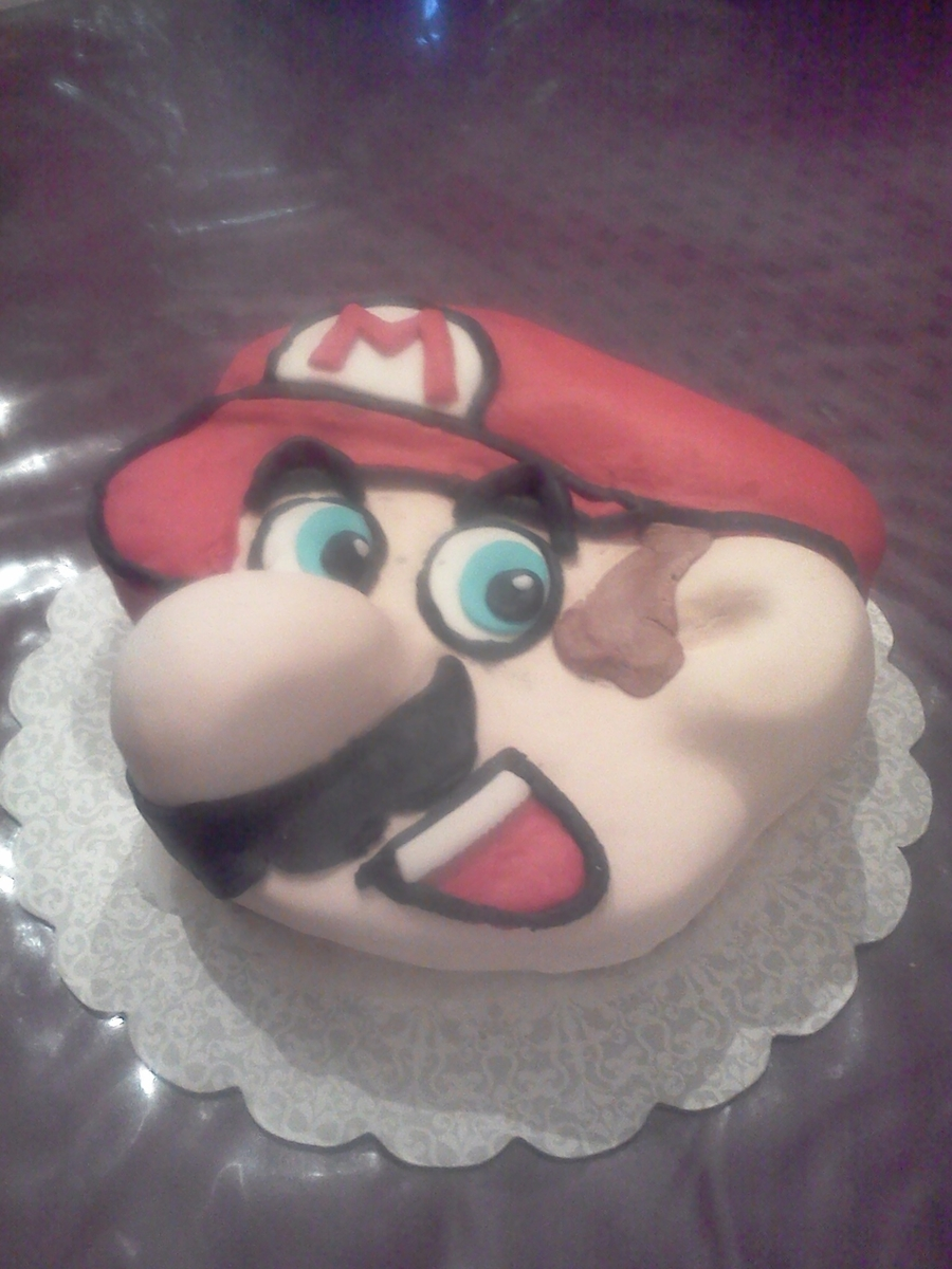 My First Super Mario!! on Cake Central