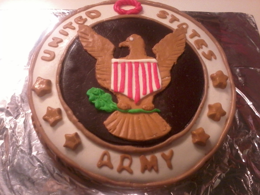 United States Army Seal on Cake Central