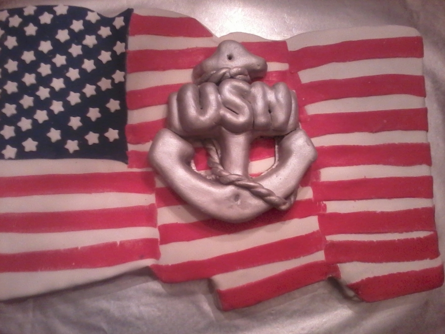 United States Navy!! on Cake Central