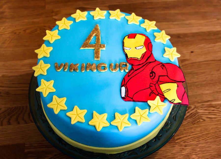 Iron Man Birthday Cake Cakecentral