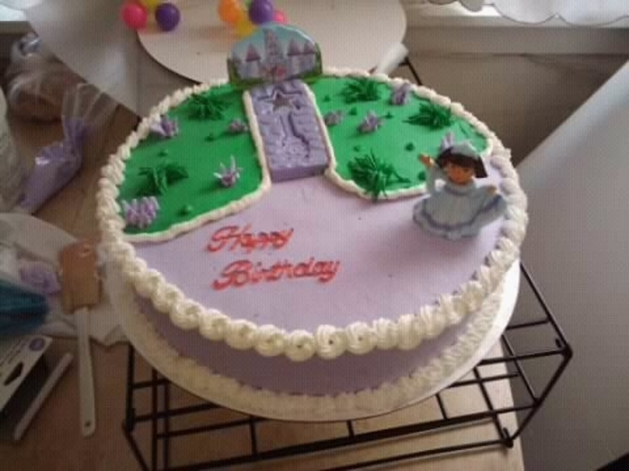 Princess Dora on Cake Central