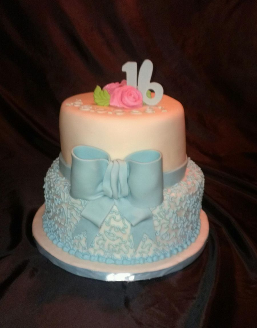 Tiffany Blue on Cake Central