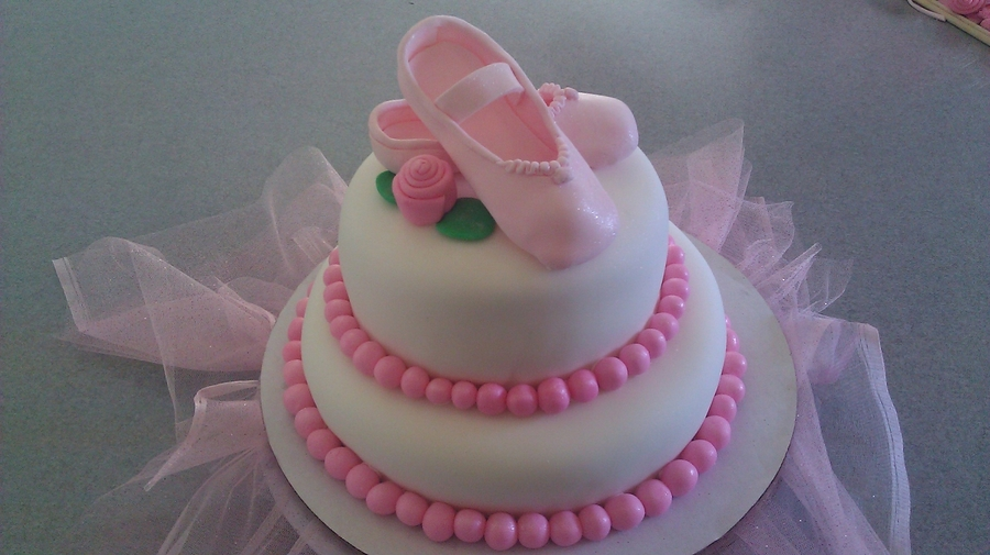 Ballerina Slippers on Cake Central