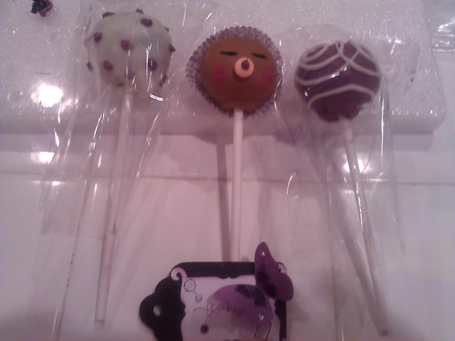 Baby Shower Cake Pops on Cake Central