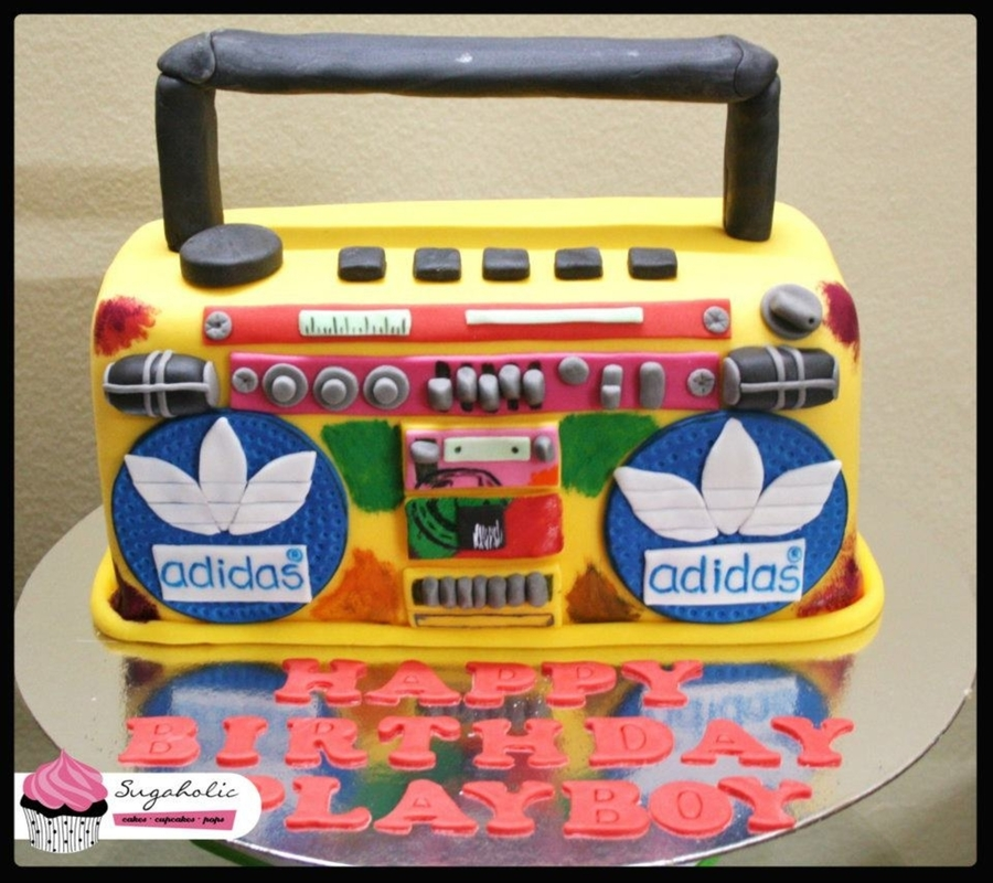 Boom Box on Cake Central