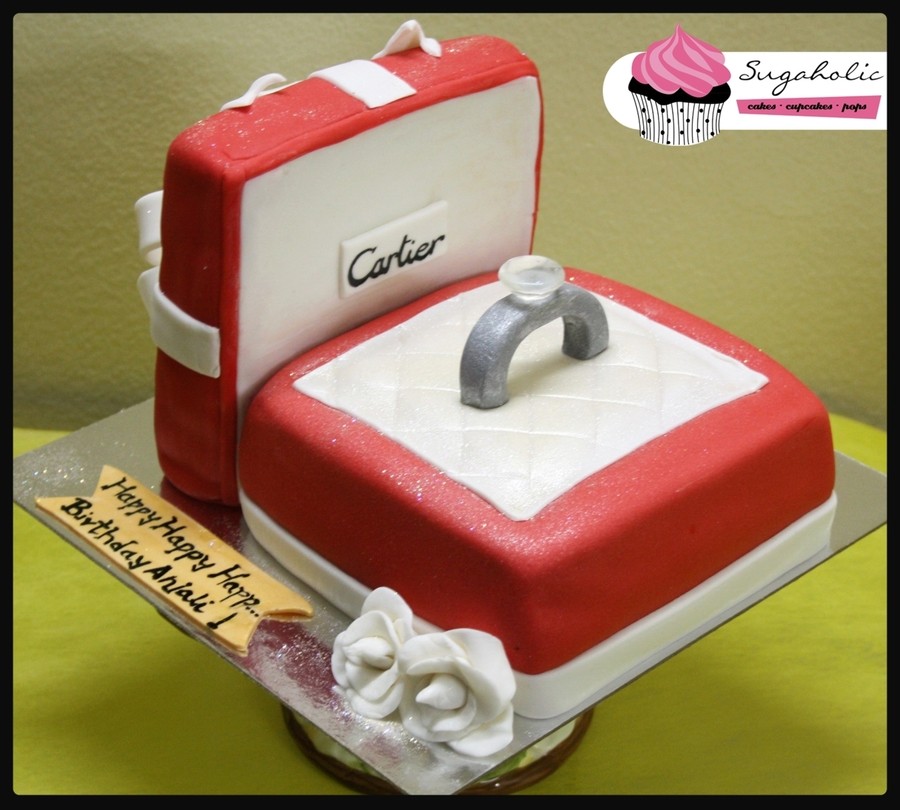 Cartier Ring Box Cakecentral