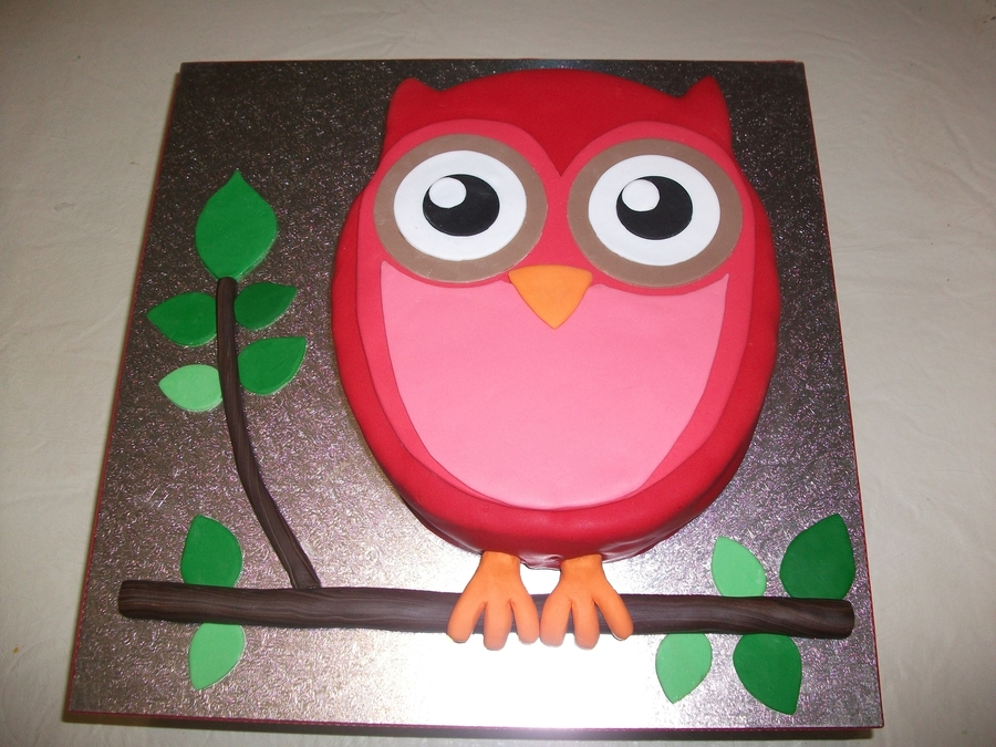 Owl For Ash on Cake Central