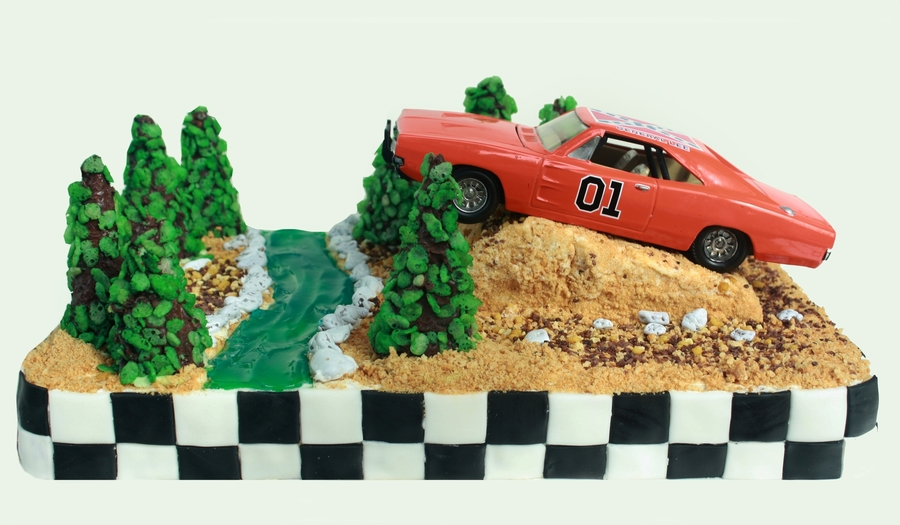 Dukes Of Hazzard General Lee Cake Cakecentral