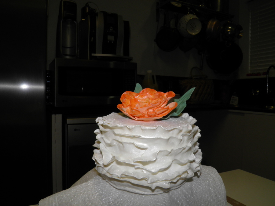 Craftsys Fondant Frills Class on Cake Central