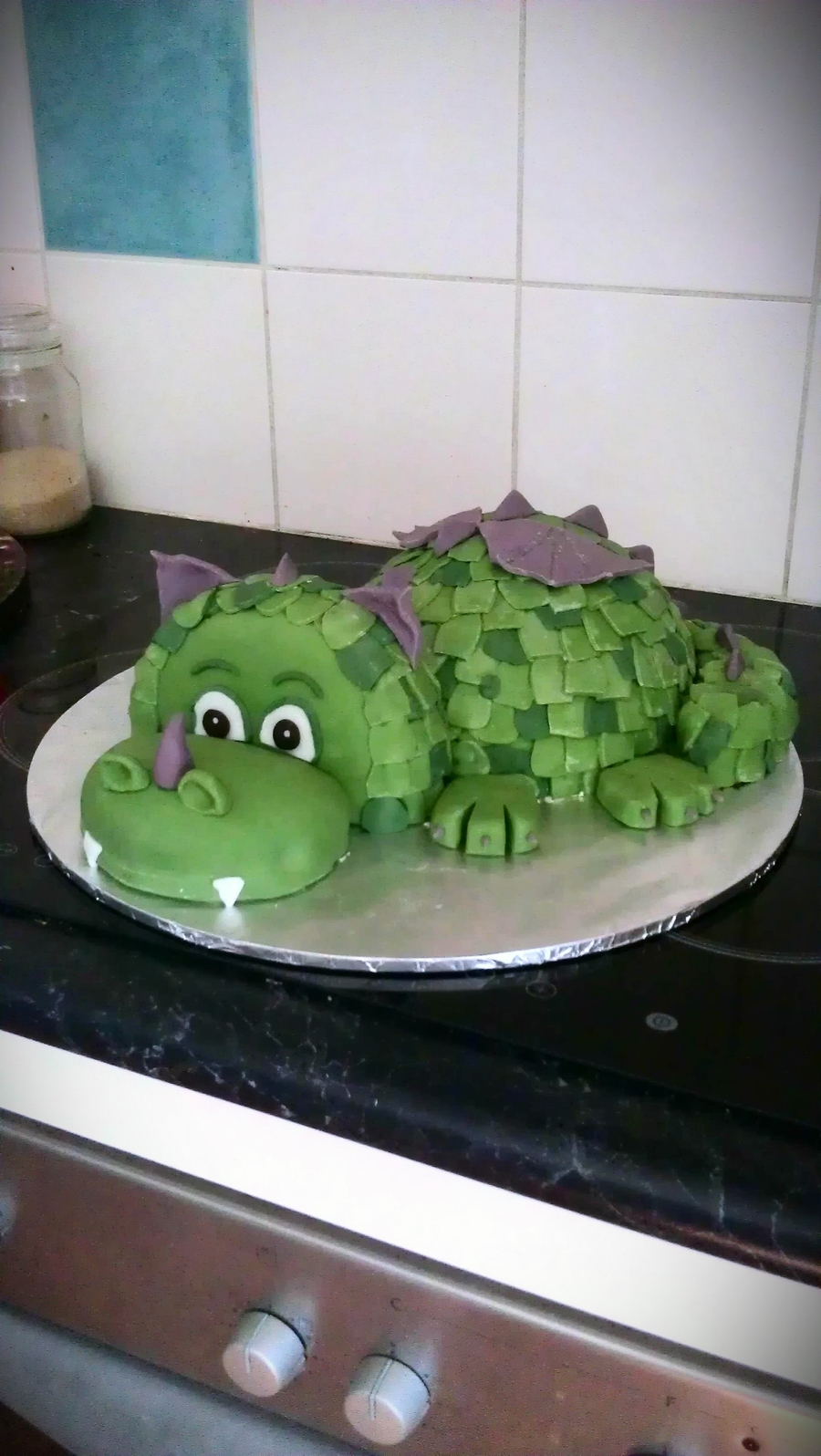 Fairy Tale Dragon  on Cake Central