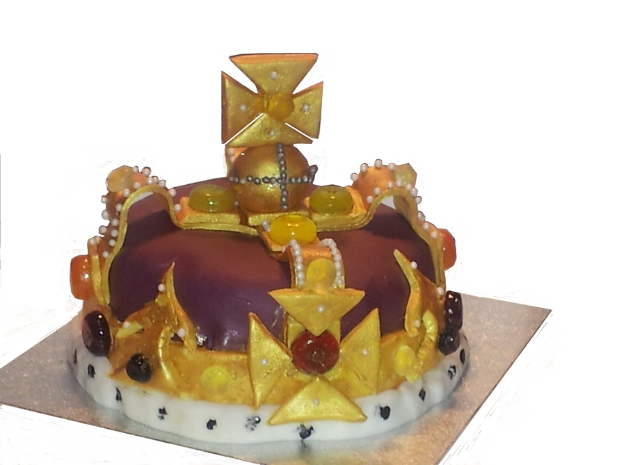 Jubilee, Coronation, Crown on Cake Central