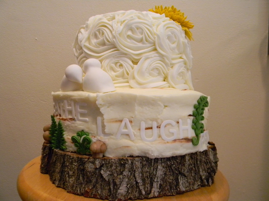 coral raffia wedding cake cakecentralcom