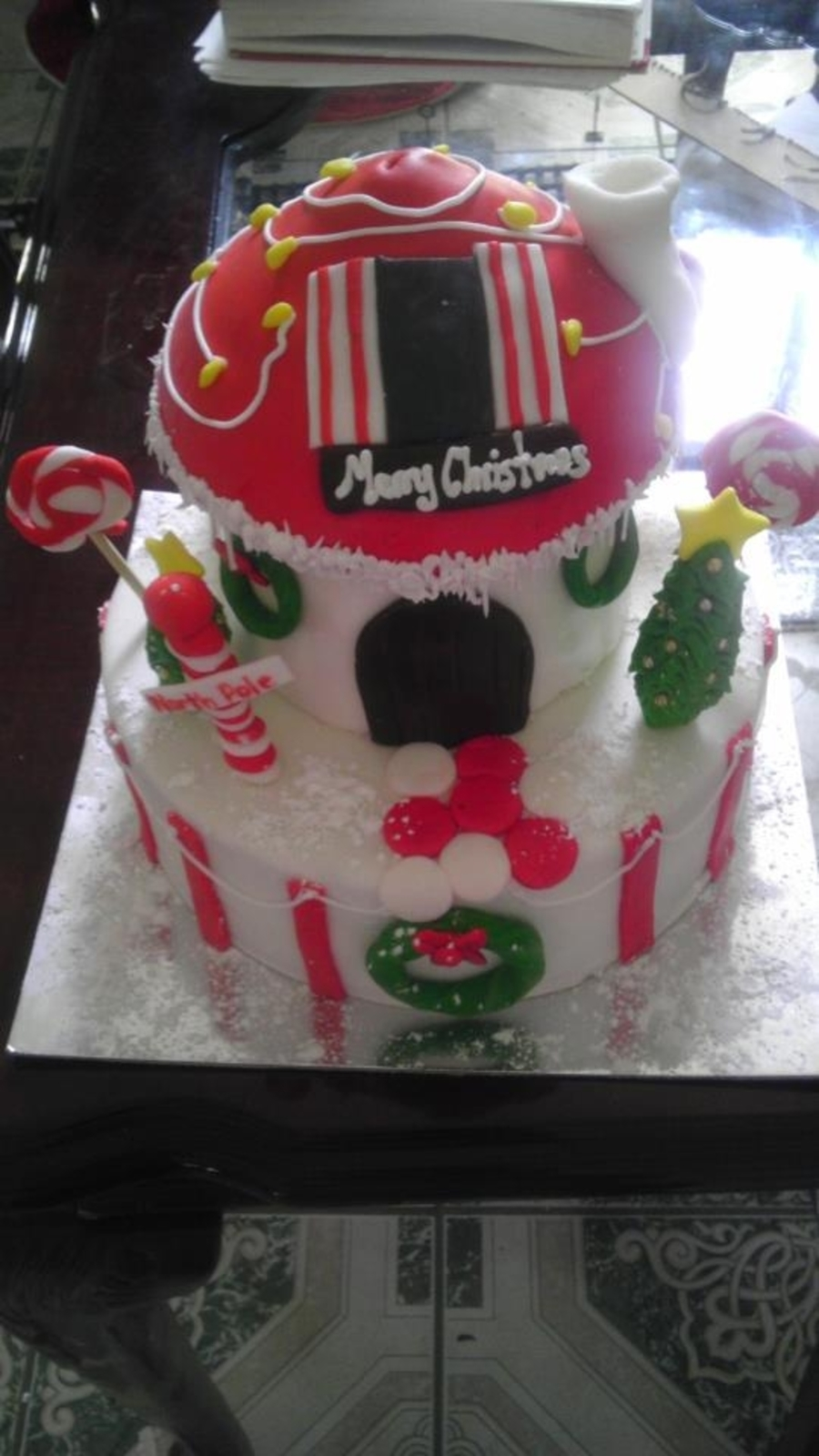 Christmas House on Cake Central