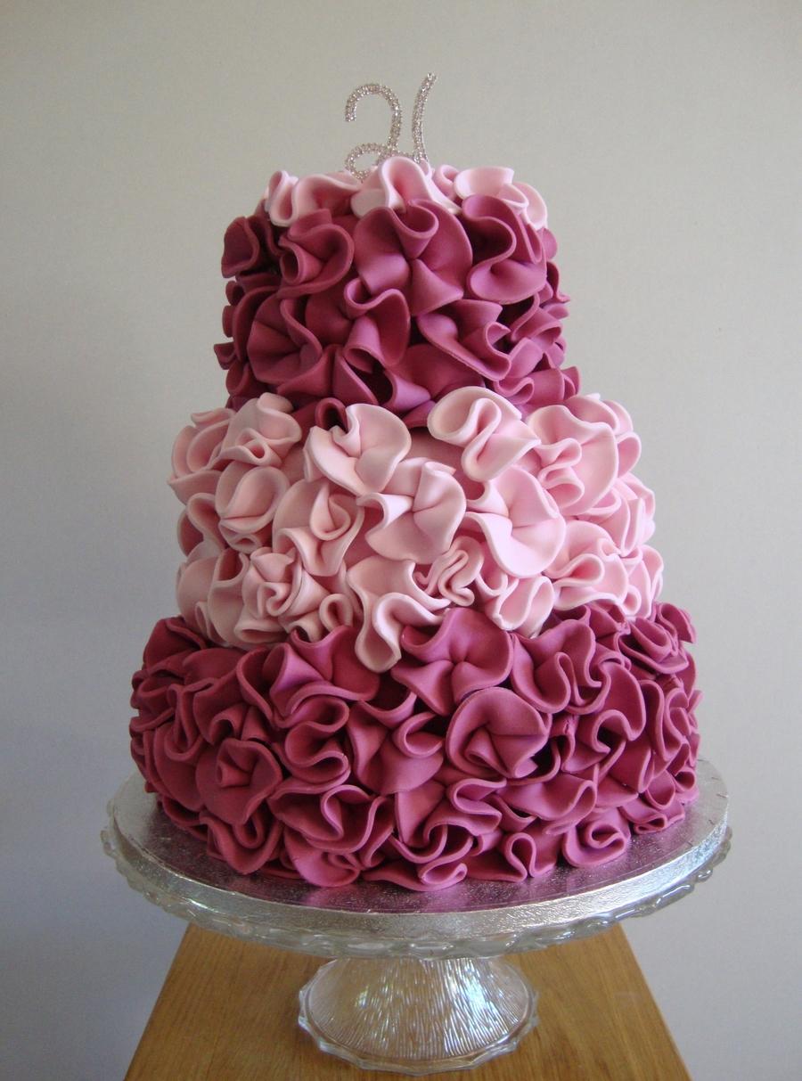 Magazine Cake Design N