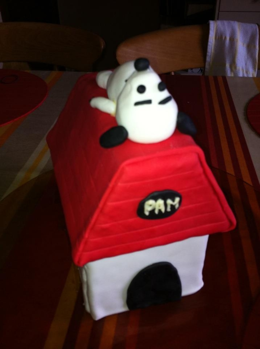 Snoopy Cake  on Cake Central