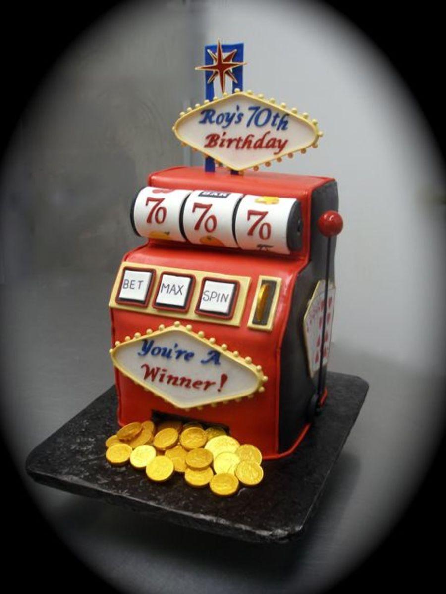 Slot Machine Birthday Cakes