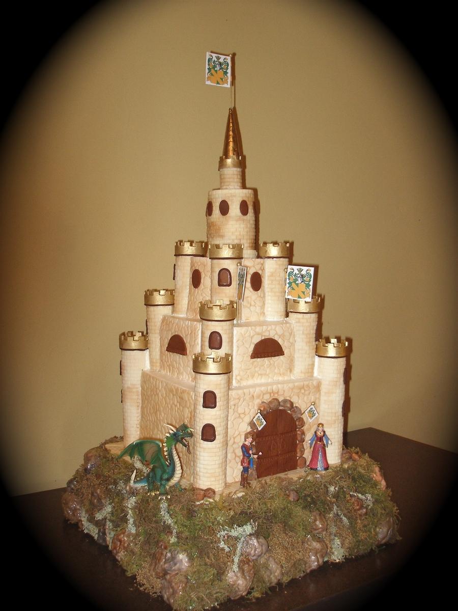 Castle Wedding Cake Cakecentral Com