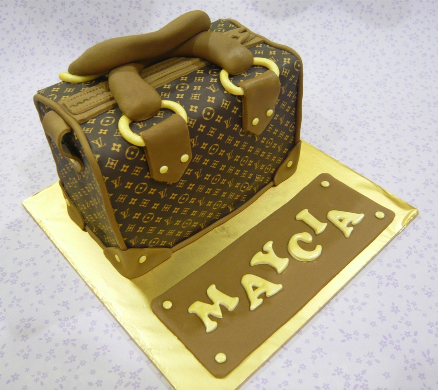 Lv Bag Cake on Cake Central