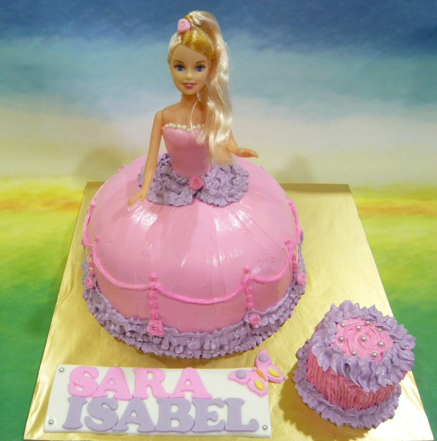 Princess Doll Cake on Cake Central