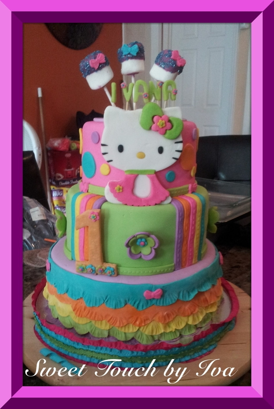 Hello Kitty!! on Cake Central