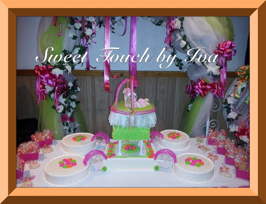 Dominican Baby Shower  on Cake Central