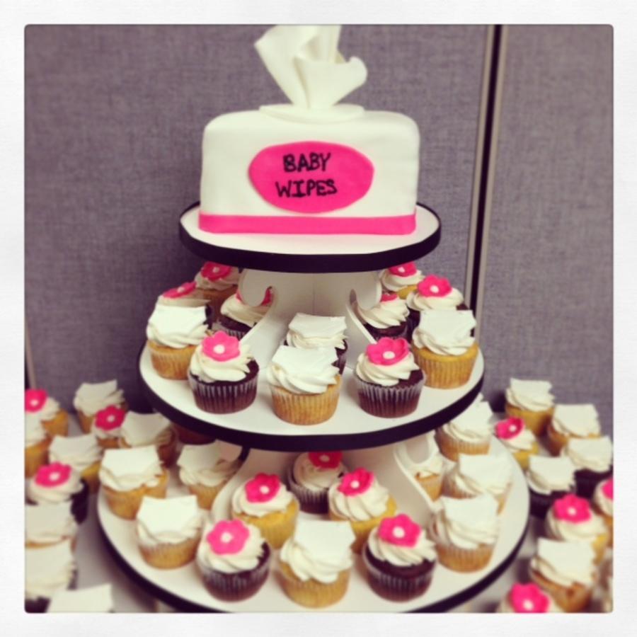 U0027diapers And Wipesu0027 Baby Shower On Cake Central. U0027