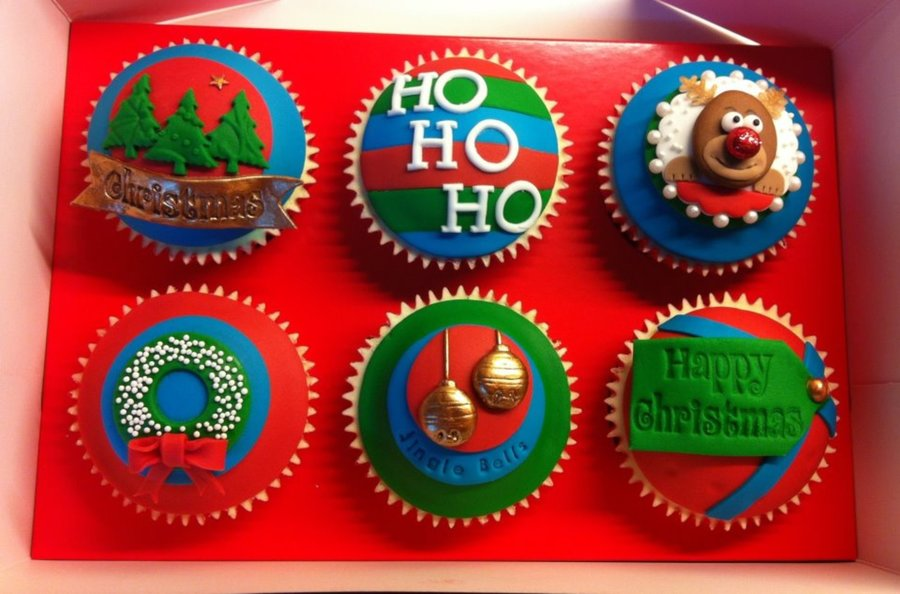 Christmas Cupcakes 2012 on Cake Central